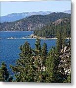 Lake Tahoe Nevada Metal Print by Aidan Moran