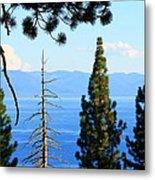 Lake Tahoe Tranquil Metal Print by Saya Studios