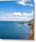 Lake Titicaca Coastline  Metal Print