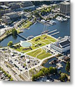 Lake Union Park And Museum Of History Metal Print