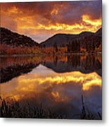 Lake View 1 Metal Print