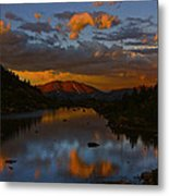 Lake View 2 Metal Print