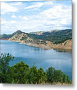 Lake View From Hwy 120 Rest Area Going Into Yosemite Np-ca- 2013 Metal Print
