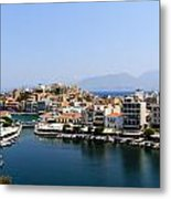 Lake Voulismeni Metal Print