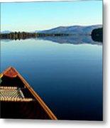 Lake Winnepasaukee Canoe Metal Print