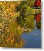Lake Winona Autumn 13 Metal Print