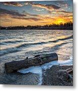 Lake Yankton Minnesota Metal Print by Aaron J Groen