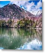 Lake Yunoko Metal Print