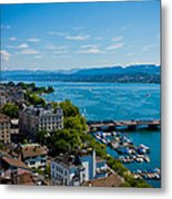 Lake Zurich Metal Print