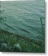 Lakeside At Dusk Metal Print