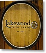 Lakewood Vineyards Metal Print
