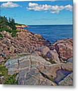 Lakies Head In Cape Breton Highlands Np-ns Metal Print