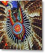 Lakota Feather Dance Metal Print