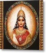 Lakshmi Goddess Of Abundance Metal Print
