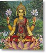 Lakshmi Metal Print by Vrindavan Das