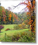 Lamance Valley In The Fall Metal Print
