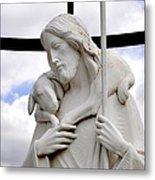 Lamb Of God Jesus Christ Torso Metal Print