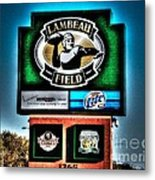 Lambeau Field Entrance Metal Print