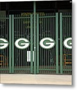 Lambeau Field - Green Bay Packers Metal Print