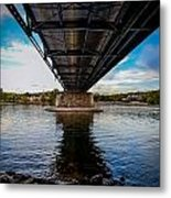 Lambertville From The Shores Of New Hope Metal Print