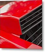 Lamborghini Countach Intake Metal Print