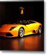 Lamborghini Metal Print
