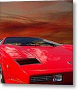 Lamborghini Starting Dream Metal Print