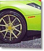 Lamborghini Verde  Metal Print