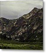 Lamoille Canyon End Metal Print