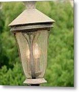 Lamp Post Metal Print