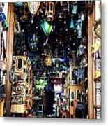 Lamp Shop Metal Print