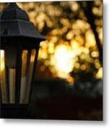 Lamplight Metal Print