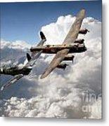 Lancaster And Spitfire  Metal Print