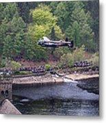 Lancaster Bomber 70th Anniversary Flypast Metal Print