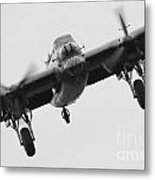 Lancaster Bomber Metal Print