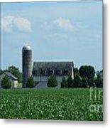 Lancaster Co Farm   # Metal Print
