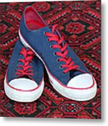 Lance's Shoes Metal Print