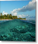 Land And Sea Metal Print