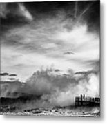 Land Of Fire Metal Print