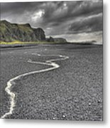 Land Of Solitude Metal Print