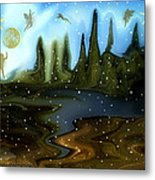 Land Of The Fairies  For Kids Metal Print