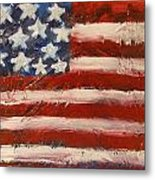 Land Of The Free Metal Print by Niceliz Howard