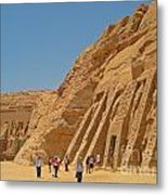 Land Of The Pharaohs Metal Print