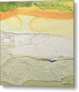 Land Patterns Metal Print