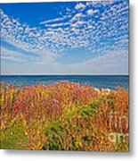 Land Sea Sky Metal Print