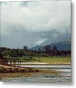 Land That Time Forgot Metal Print by Anthony Bean