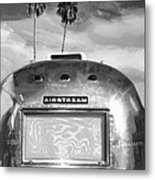 Land Yacht Bw Palm Springs Metal Print