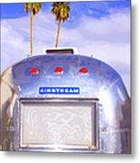 Land Yacht Palm Springs Metal Print
