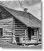 Landow Log Cabin Metal Print