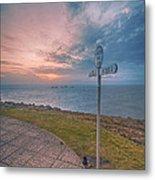 Lands End Cornwall Metal Print